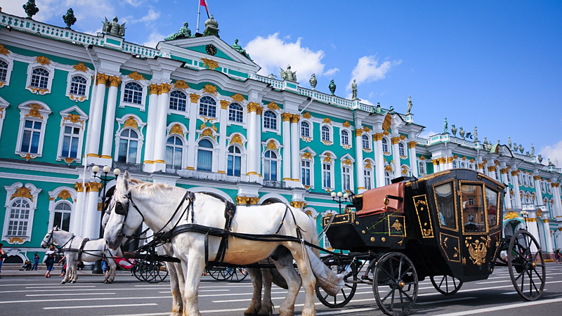 Weekendresa till S:t Petersburg